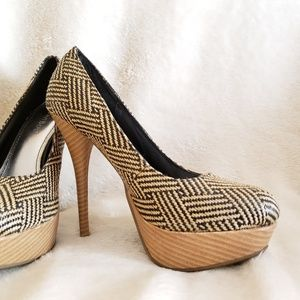 BAMBOO Shoes - Bamboo heels size 6.5